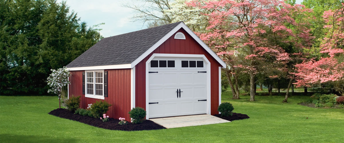 Wood Garage, Dutch Home Outdoors, Middletown, DE