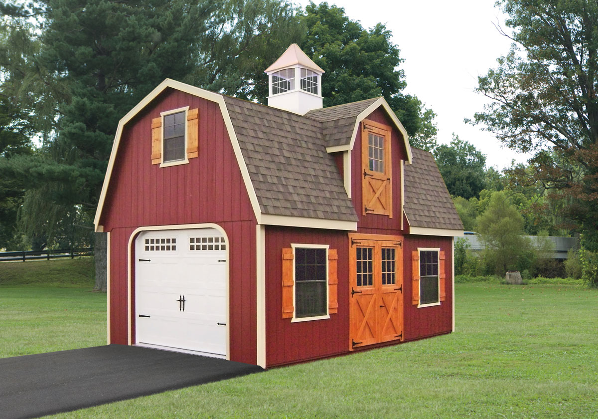 Custom Garage, Dutch Home Outdoors, Middletown, DE