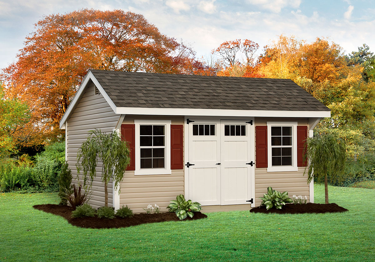 Quality Outdoor Garden Sheds, Vinyl Siding, Dutch Home Outdoors, Middletown, DE