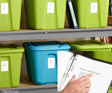 Bins for Storage Organization
