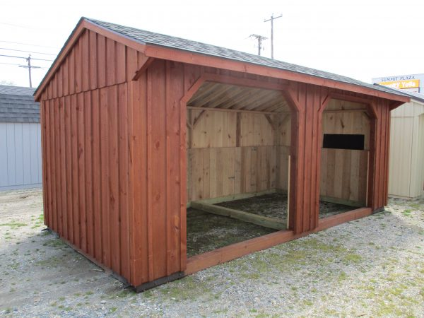ER 10×20 Run In Shed