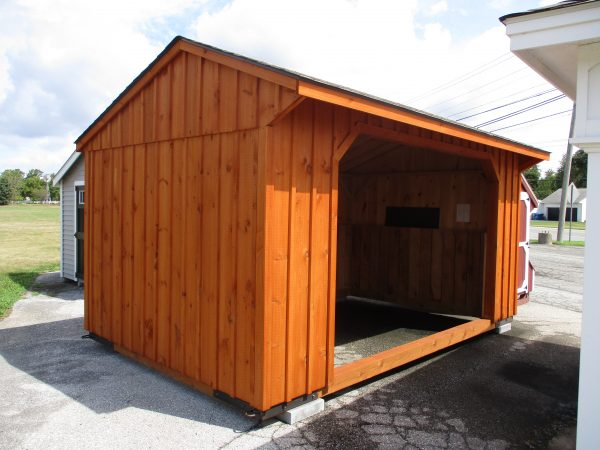 10×16 Run In Shed
